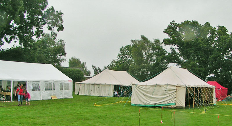 A photo showing some of marquees.