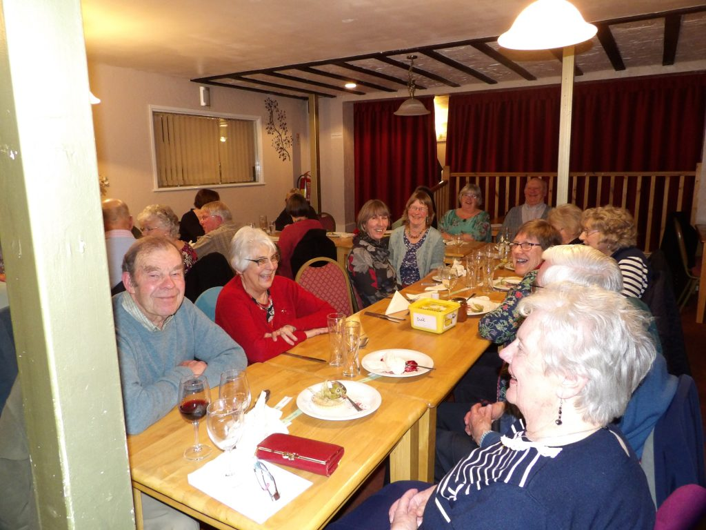 photo of Bream Gardening Society Annual Meal 2018